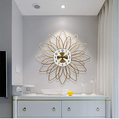 Scra AC Moderno minimalista sala de estar reloj de pared reloj de bolsillo reloj creativo moda artístico personalidad decorativo hogar relojes Φ54cm