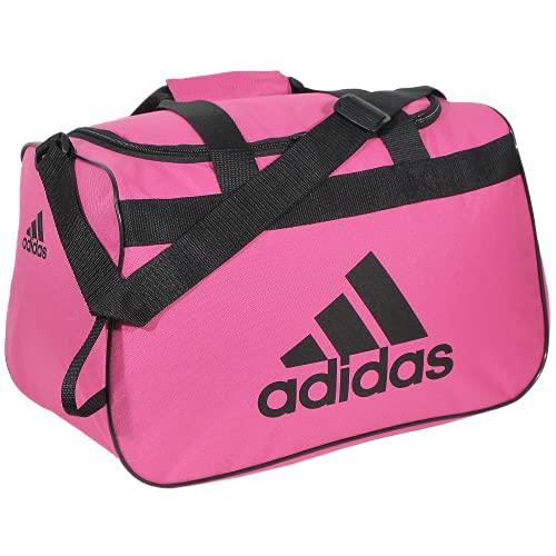 adidas Unisex Diablo Small Duffel Bag, Intense Pink/Black, Small
