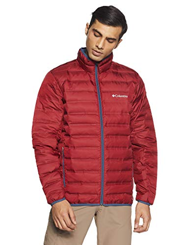 Columbia Jacke für Herren, Lake 22 Down Jacket, Polyester, Rot (Red Element), Gr. XL, 1737881