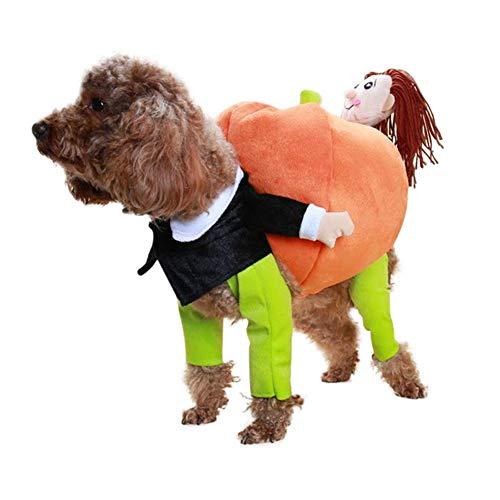 Lustige Haustier Cosplay Kostüm Haustier Katze Hund Warm Jumper Kürbis Outfit Kleidung Jacken Halloween Weihnachten Kleidung Anzug