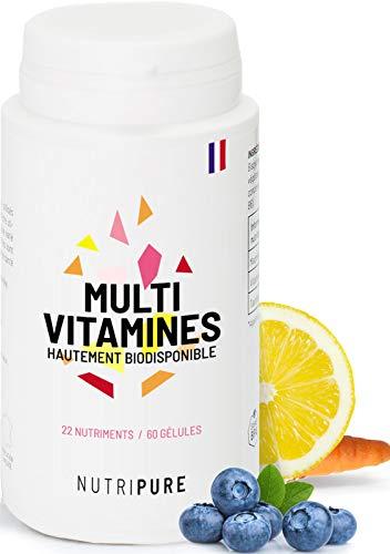 Multivitamines et Minéraux 22 Nutriments...