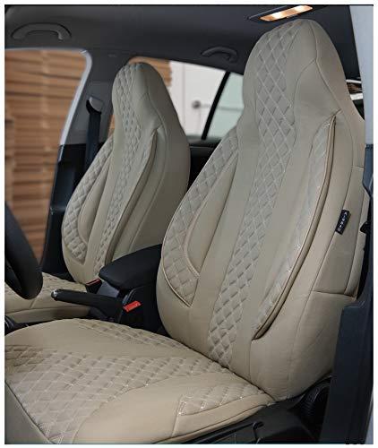 Coprisedili compatibili con Nissan X-Trail T32, guidatore e passeggero a partire dal 2014, codice colore: PL405.