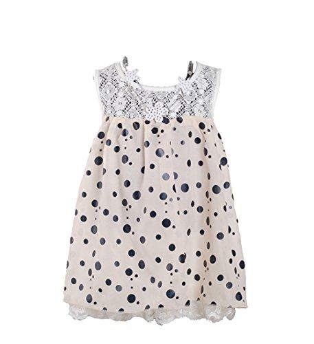 Cinda Clothing - Robe - Fille - Ecru - Ecru - 3 mois