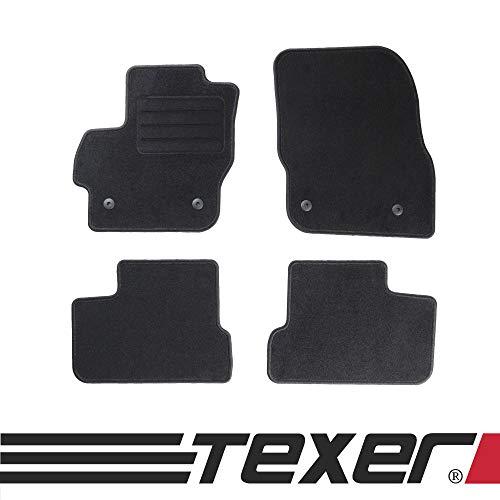 CARMAT TEXER Textil Fußmatten Passend für Mazda 3 II Bj. 2009-2014 Basic