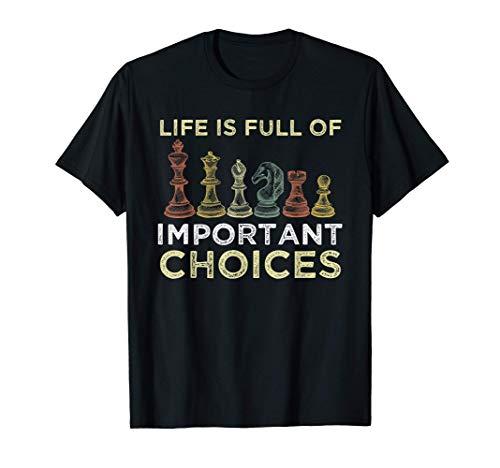 Ajedrez diciendo Jugador de ajedrez Club de Ajedrez Camiseta