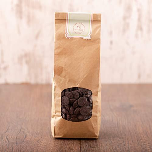 süssundclever.de® Bio Kuvertüre | Callets | 50% Kakao | 1 kg | Premium Qualität