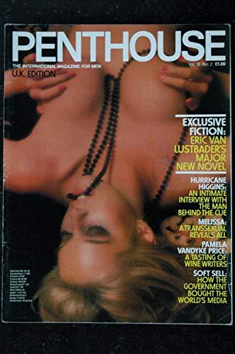 PENTHOUSE UK Vol 18 N° 02 EARL MILLER Xaviera HOLLANDER Alex HIGGINS John THEAKSTON Bob GUCCIONE