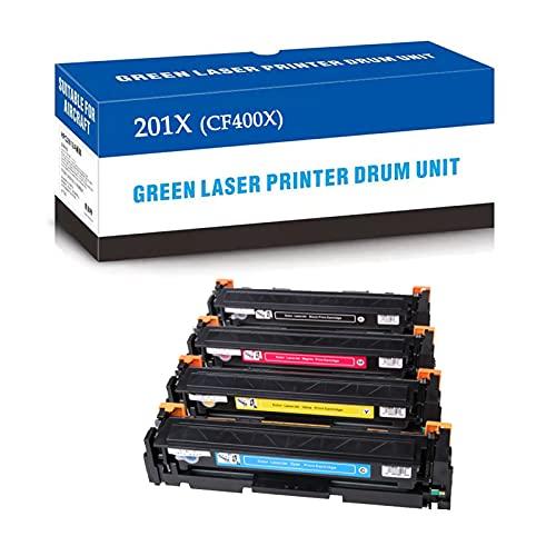 Reemplazo de Cartucho de tóner Compatible para HP 201X CF400X CF401X CF402X CF403X para HP Laserjet Pro MFP M277DW M277 M277N M277C6 M252DW M252 M252N Impresora