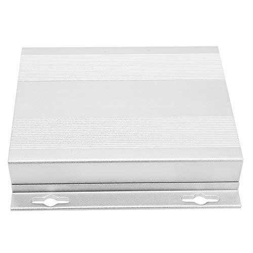 Caja de Conexión Resistente a La Intemperie, 27x131x130mm Caja de Proyecto de Aleación de Aluminio Caja de Cable de Alimentación Eléctrica para Temporizadores Cables de Extensión Carretes