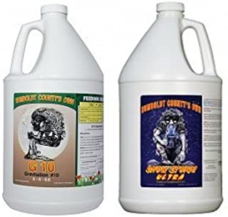 Hydro Galaxy Humboldt County`s Own Emerald Triangle G 10, Snow Storm Ultra 1 Gallon Each