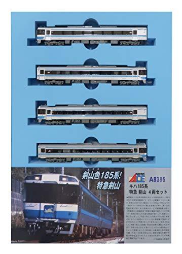 マイクロエース Nゲージ キハ185系 特急 剣山 4両セット A8385 鉄道模型 ディーゼルカー