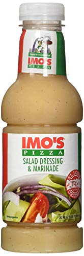 Imo's Pizza Sweet Italian Dressing and Marinade (20 Ounce Bottle),...