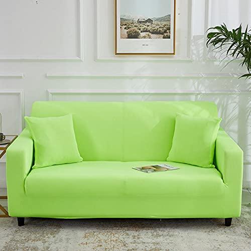 Funda de sofá de Alta Elasticidad para Sala de Estar Funda Universal de poliéster Funda de sofá elástica Funda de sofá de Esquina A15 2 plazas