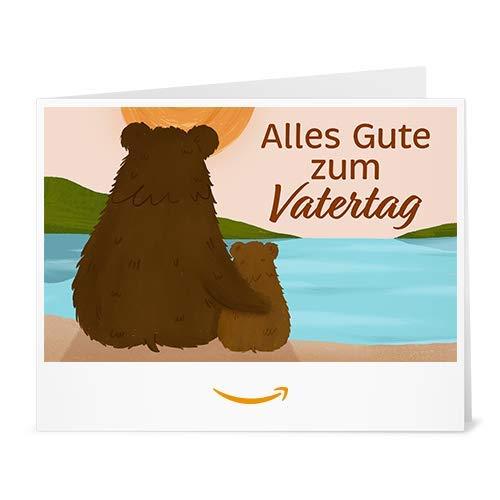 Amazon.de Gutschein zum Drucken (Vatertag Bären)