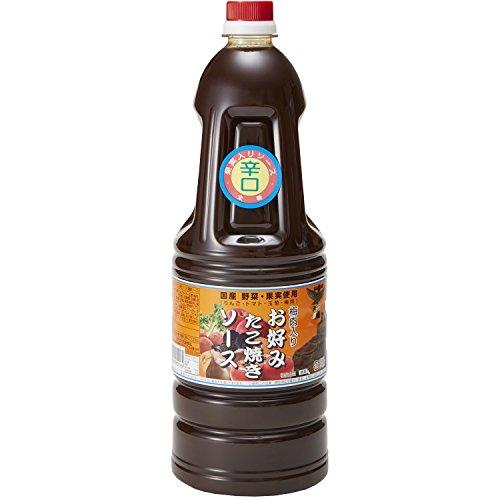 和泉食品 タカワ お好みたこ焼きソース 辛口 1800ml