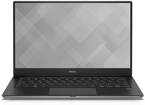 Dell 9360-4438 33,78 cm (13,3 Zoll Full HD XPS) Laptop (Intel Core i7-7560U, 16GB RAM, 512GB SSD, Iris Plus 640, Win 10 Home) silber