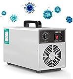 HOSUAI Acero Inoxidable Comercial del Ozono del Generador - 3000 MG/H O3 Profesional Purificador De Aire, Desodorante Y Esterilizador