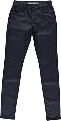 Geisha meisjes jeans navy met lichte glans 71519K