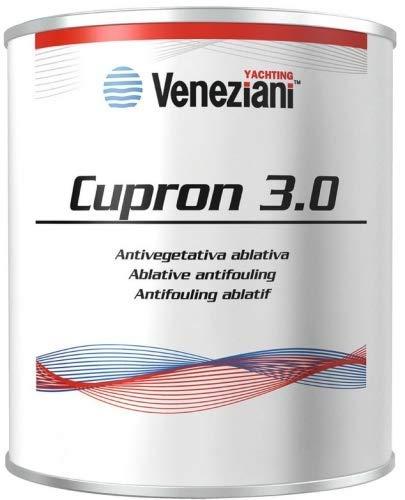 CUPRON 3.0 VENEZIANI ANTIVEGETATIVA LT. 2,5 - Colore Nero