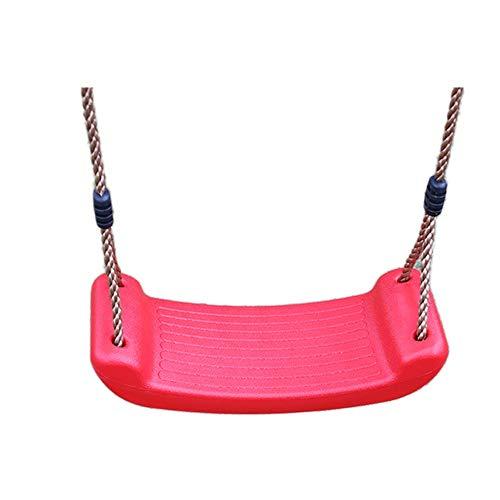 YaGFeng Swing Kids Asiento De Columpio De Plástico con Columpio De Cuerda La Altura Ajustable del Patio De Juegos Al Aire Libre Está Hecha Puede Usarse En Cualquier Patio De Ju