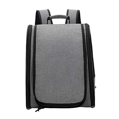 Vogeltasche, Reisetasche, leichtes Vogelnest, wasserdichter Vogelträger mit verstellbaren Trägern, atmungsaktiver Vogelreisekäfig-Rucksack für große mittelgroße und kleine Vögel mit Myna-Wanderung