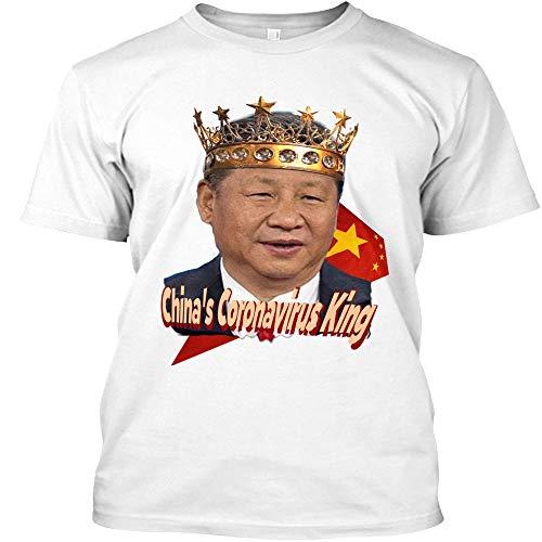 Chinas Córonavirus King Best Women- 90S Tees- Retro Shirt Funny Best Shirts Custom T-Shirts Customize T-Shirt