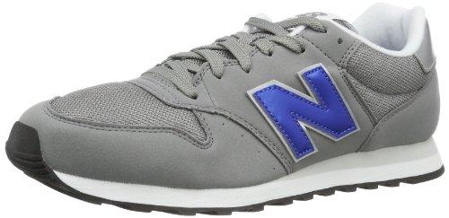 New Balance 500, Scarpe Sportive Uomo, Grigio (Grey/Blue), 44 EU