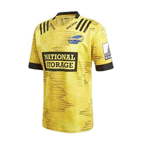 LAVATA Männer Rugby-Trikot Fußball-T-Shirt Super League Trainingsanzug Unisex Rugby Uniform Fans T-Shirts Print Top Kurzarm Für Männer