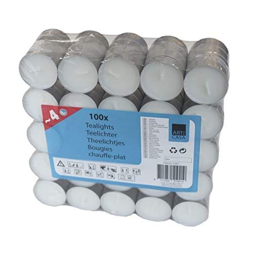 100 bougies chauffe-plats