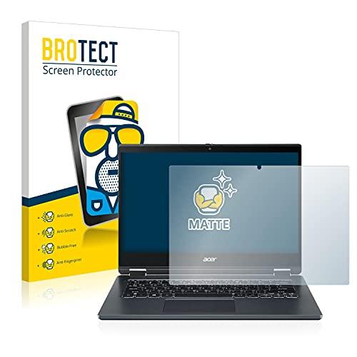 BROTECT Entspiegelungs-Schutzfolie kompatibel mit Acer TravelMate Spin P4 Bildschirmschutz-Folie Matt, Anti-Reflex, Anti-Fingerprint