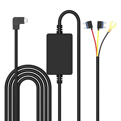 Changerドライブレコーダー 電源ケーブル 24H駐車監視 Mini USB電源直結コード 降圧ライン ACC連動低電圧保護 過電流保護 12V/24V対応 2.5A/5V輸出…