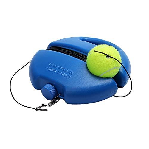 Guanici Dispositif Entrainement Tennis Tennis Trainer Outil Entraînement personnel au tennis Outil d'aide à la formation au tennis équipement pour entraînement de tennis portable, idéal pour débutants
