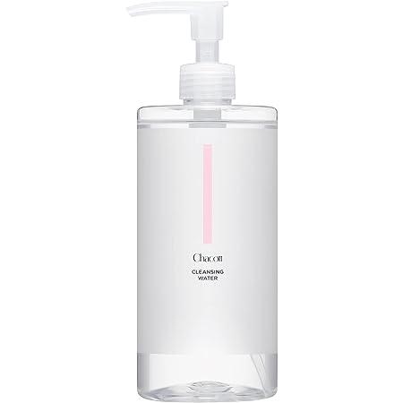 Chacott チャコット クレンジングウォーター ポンプ式 W洗顔&化粧水 500ml 001 レディース&メンズ用 ジェンダーレスコスメ