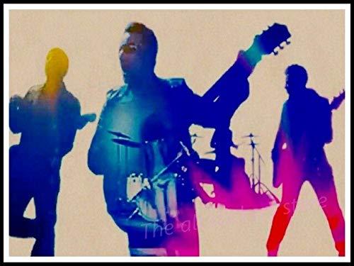Cuadros Murales Lienzo Póster,Póster De U2, Decoración De Muebles para El Hogar De Irlanda, Póster Gratis, Póster De Música Acid Rock, Dibujo, Núcleo, Pared De Coche,50X70Cm Sin Marco,Ph-375