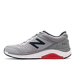 in budget affordable New Balance Men's 847V4 Hiking Shoes, Silver Nink / Gunmetal, US9.5.