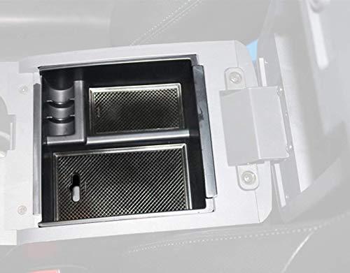 Caartonn Car Center Console Armrest Box Glove Box Organizer Secondary Storage for Isuzu D-max Dmax 2012 2013 2014 2015 2016