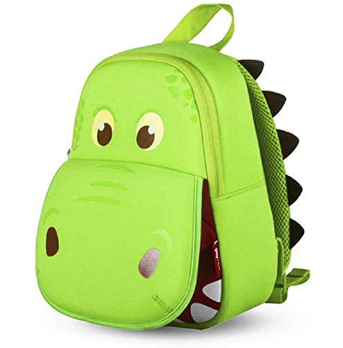 OFUN Dinosaur Backpack for Boys 2-7 Year Old, 13'' Toddler Dinosaur Toys Bag, Kindergarten Backpack Ideal for Daycare