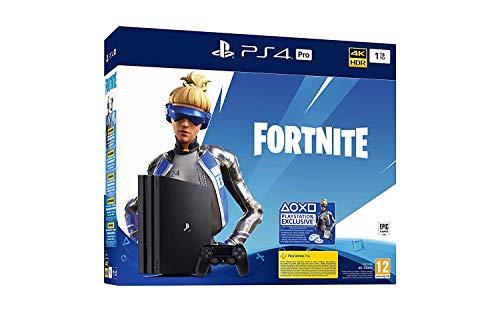PS4 PRO 1To G Console Playstation 4 Noir + Bonus Fortnite [Neo Versa]