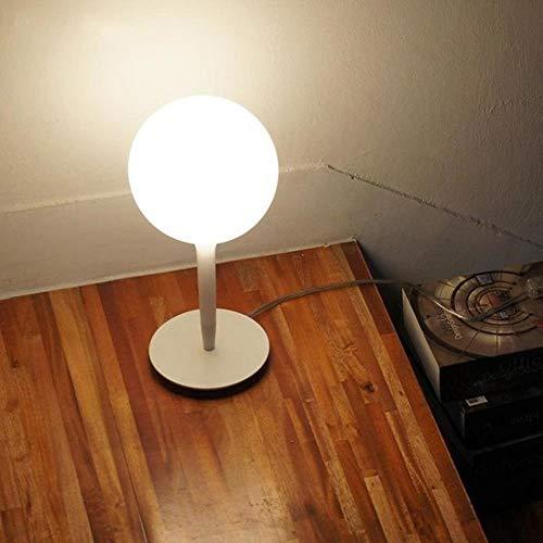 SKDHGFKAJSHJFKDHJK tafellamp, bol van glas, wit, modern, modern en modern tafellampen, werk en leren, golf eenvoudig, woonkamer bedlampje