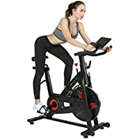 Finer Form Indoor Exercise Bike with 35 Lbs Flywheel (Newly Improved)