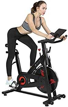 Finer Form Indoor Exercise Bike with 35 Lbs Flywheel