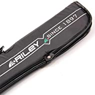 Made to a high standard by Riley, this cases holds a standard centre-jointed 2 piece cue. Internal padding for better cue protection Water resistant - keeps cue dry if caught in a rain shower Easy-Open zip at end and side carry handle Internal divide...