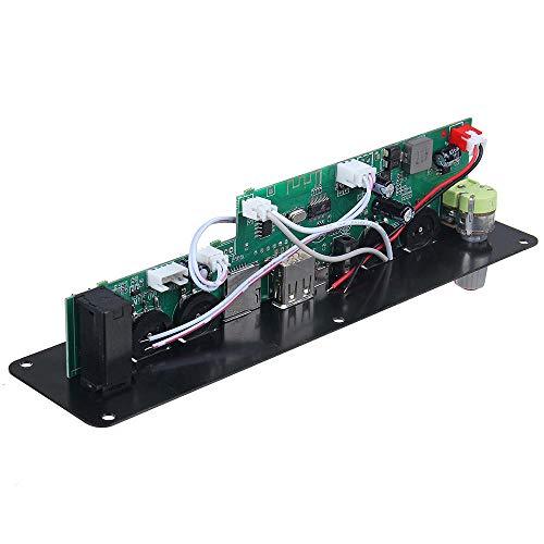 Módulo electrónico Bluetooth 5.0 Amplificador de energía AUTHIFICADOR AUDIO Decoder Tablero 3.7V / 5V Reverberación independiente Soporte FM AUX 20W Equipo electrónico de alta precisión