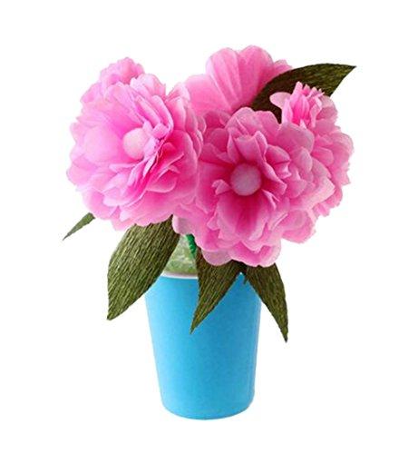 5 jeux d'enfants intéressants bricolage en pot de fleurs en papier décoratifs