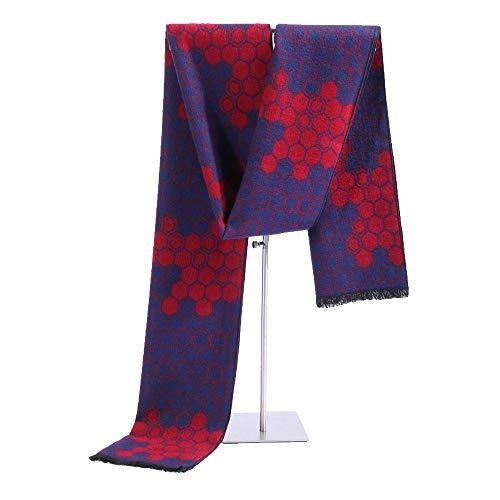 XXYHYQHJD Bufandas para Hombres Caliente for Hombre otoño Invierno de la Bufanda de Rayas Pañuelo del tartán de Paisley Bufandas Pañuelos de Bandelet 180 * 30cm (Color : 9, Tamaño : 180 * 30CM)