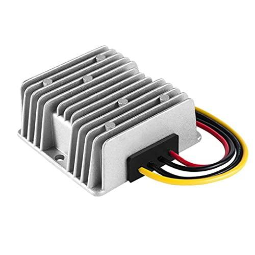 DC-DC Modulo step-down Step-Down Converter 48V a 12 V 20A 480W Condizionatore di alimentazione utilizzato per Allarmi elettronici per auto Radio Motori elettrici Argento
