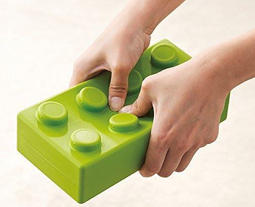 KL-Toys Q-Blocks   32 Softbausteine in 4 Farben  rot, blau, gelb und Grün   16 Rechtecke, 8 Quadrate + 8 abgerundete Bausteine   2+