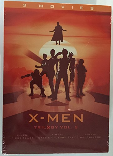 X-Men Trilogy Vol. 2 (X-Men: First Class / X-Men: Days of Future Past / X-Men: Apocalypse) [DVD]