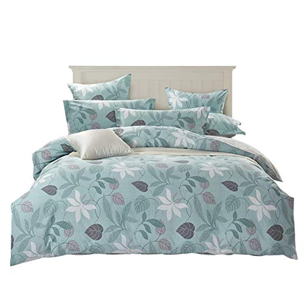 工夫する論理的に致命的田園のベッドの上の用品のメーカーが純綿の小さい清新な製品を直売して4点セットの全綿の横柄をセットするのが好きです