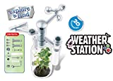 Popsugar Weather Station DIY Science Kit for Kids   Build Your own Weather Station   Observe and Record The Weather, Multicolor